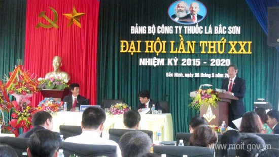 Đảng bộ Công ty Thuốc lá Bắc Sơn: Nâng cao năng lực lãnh đạo và sức chiến đấu của tổ chức Đảng